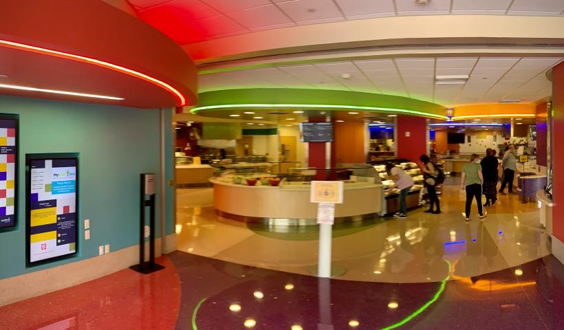 Dining at Phoenix Children's Hospital during COVID-19